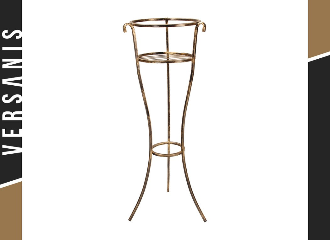 1-pot plant stand Metal
