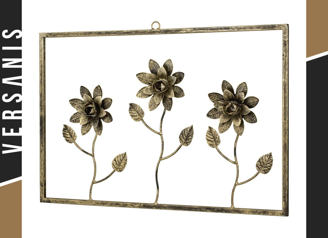 3-flower frame » Decorations » Shop online | Versanis