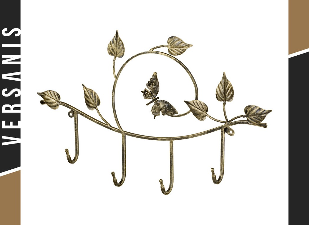 4-peg coat rack – Butterfly Metal