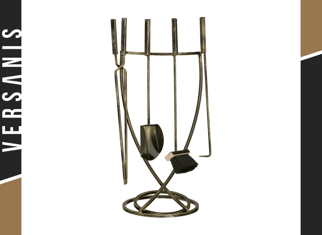 4-piece fireplace accessories – Cobra Metal