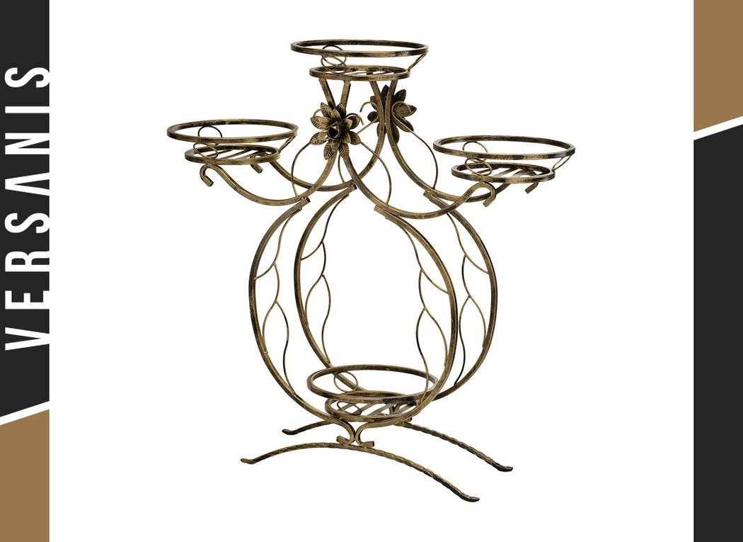 4-pot plant stand – Penguin Metal