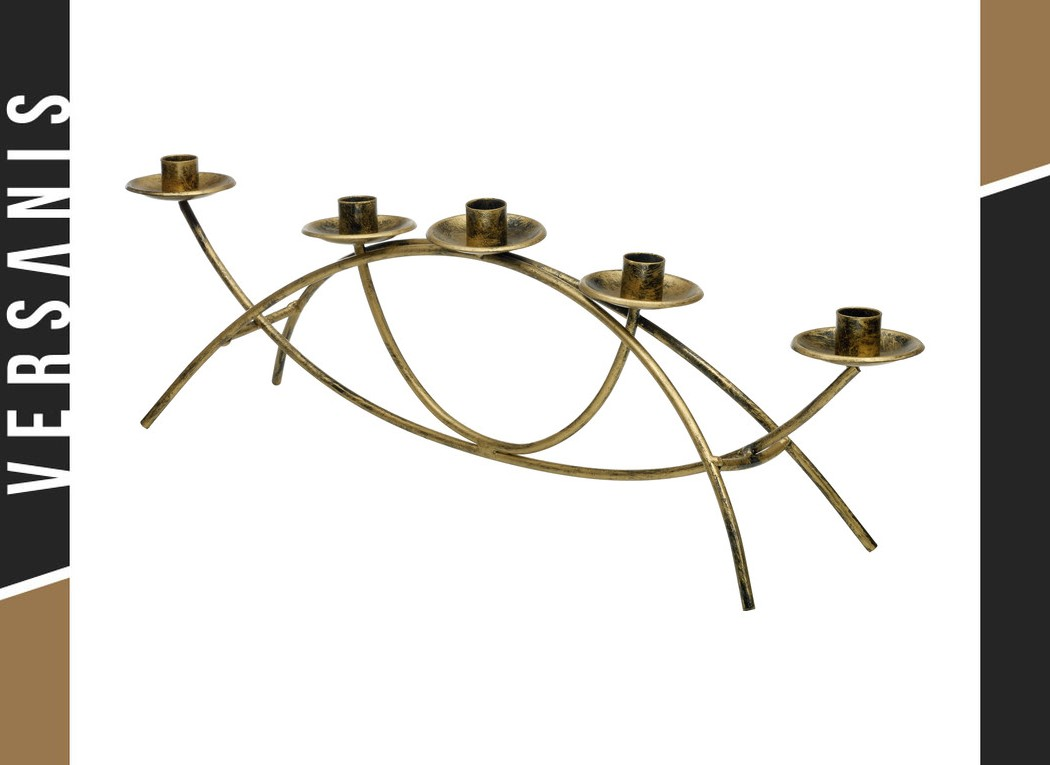 5-candle holder Metal