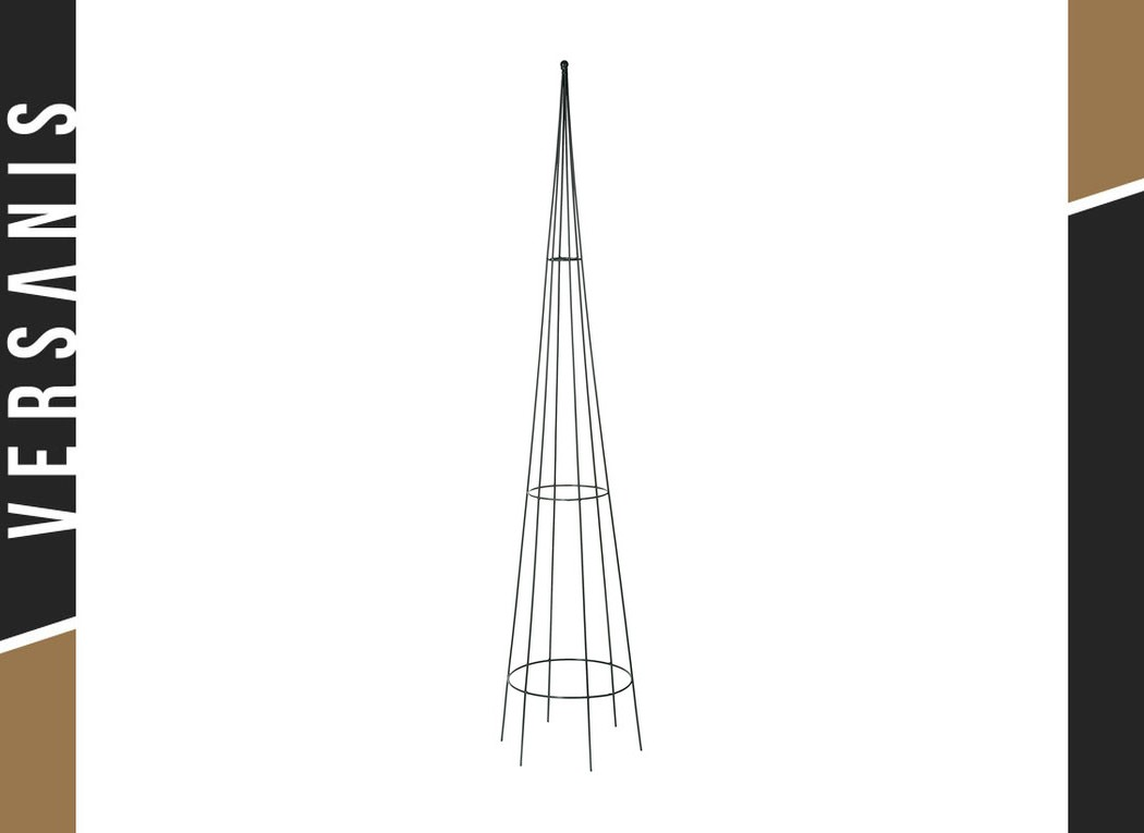 Conical trellis 150 Metal
