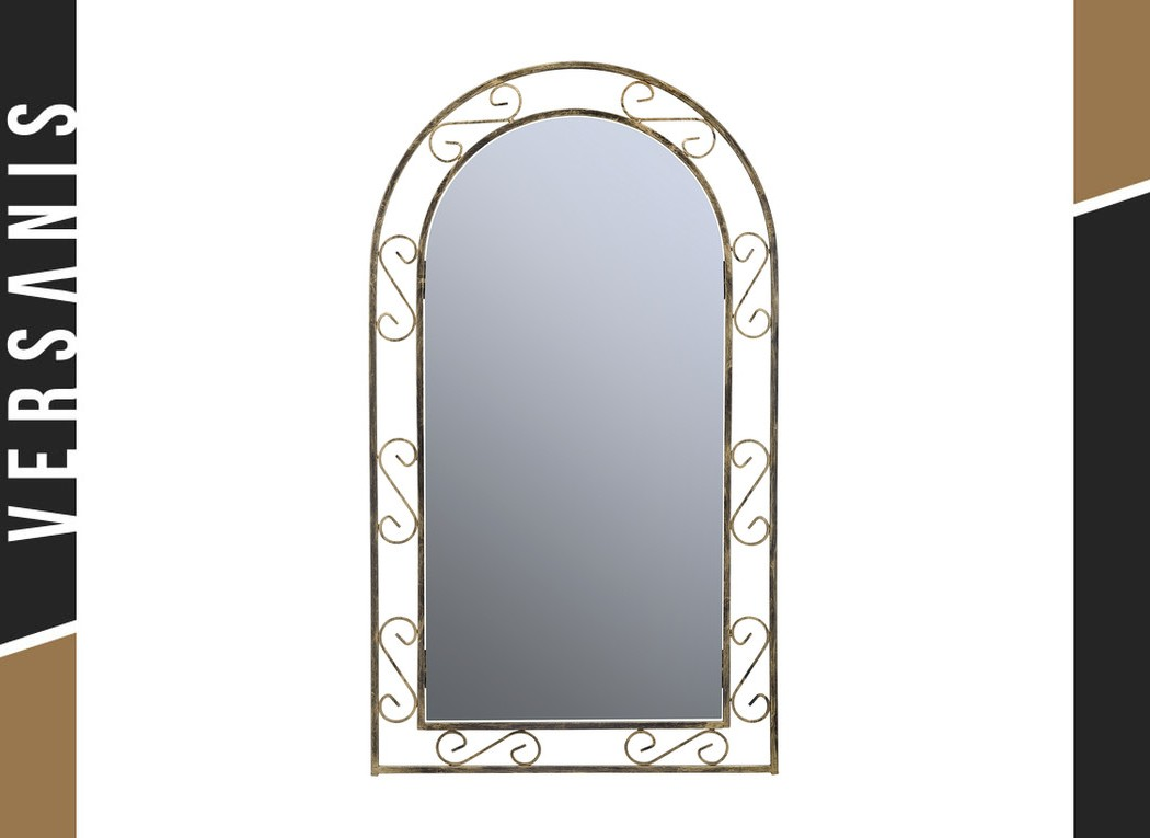 Oval mirror – Classic Metal