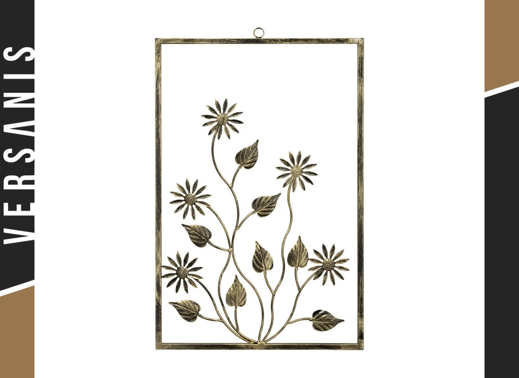 Wall mounted frame – Camomile Metal
